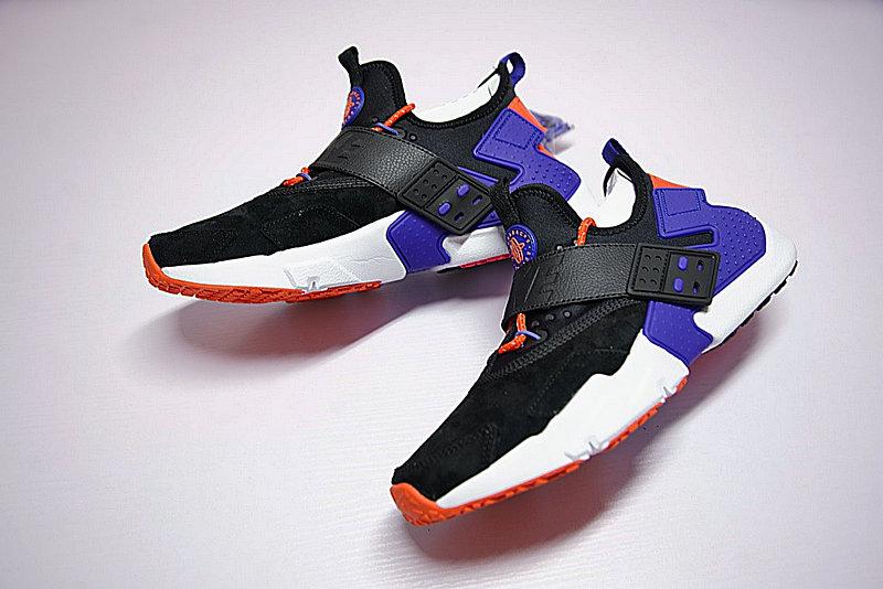 b436deaacbc0d130c17259d2d9932a69 - 情侶鞋 Nike Air Huarache Drift Prm 6代  黑藍 橘紅 AH7335-002