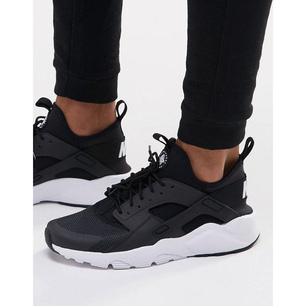 c993aaf83cf6640ed39a19da9204fa09 - Nike Air Huarache Run Ultra 二代 經典 黑白 黑武士情侶鞋 819685 001