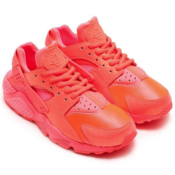 cbf5007c6956ad4aacf5c2742f446eb6 - Wmns Air Huarache run Prm 全紅武士 鱷魚紋 女鞋 683818-800