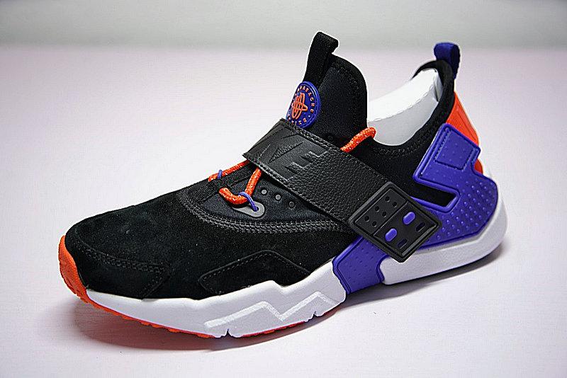 cdaa013978cdcabcc108364119e1790a - 情侶鞋 Nike Air Huarache Drift Prm 6代  黑藍 橘紅 AH7335-002