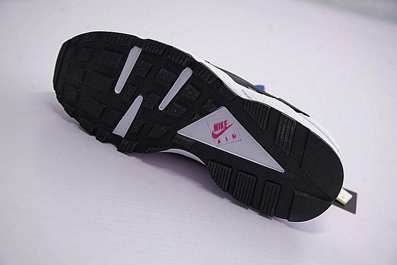 cf98bbdfc18120c435cba3be286ba23d - 情侶鞋 Nike Air Huarache Run OG初代華萊士復古慢跑鞋 OG白藍桃粉 AH8049-100-