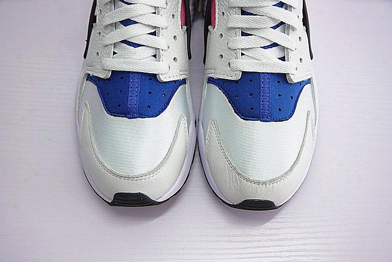 d0fc56f8592b46cf6b5fa15baa4e4d86 - 情侶鞋 Nike Air Huarache Run OG初代華萊士復古慢跑鞋 OG白藍桃粉 AH8049-100-