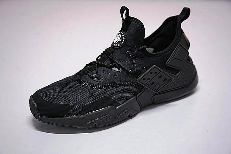 d38b2fe0dd50cb731069b122ca9c4fa9 - 男鞋 Nike Air Huarache Drift Prm 華萊士 漂移6代 復古花樣網面軍全黑 AH7334-003
