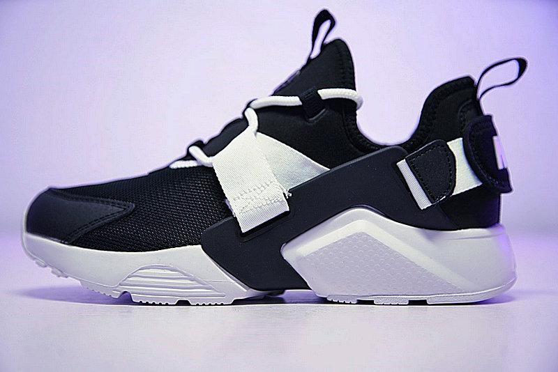 db5f27a63d06db40601c19b0585d52a3 - 情侶鞋 Nike Air Huarache City Low 機能 百搭 慢跑鞋 黑白 AH6804-002