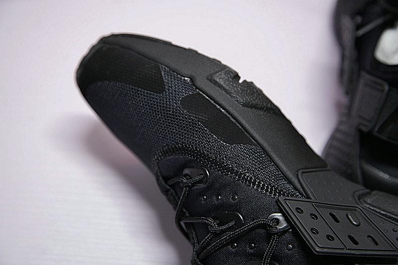 dc31f90dfa92924b39accb4d9f102cb4 - 男鞋 Nike Air Huarache Drift Prm 華萊士 漂移6代 復古花樣網面軍全黑 AH7334-003