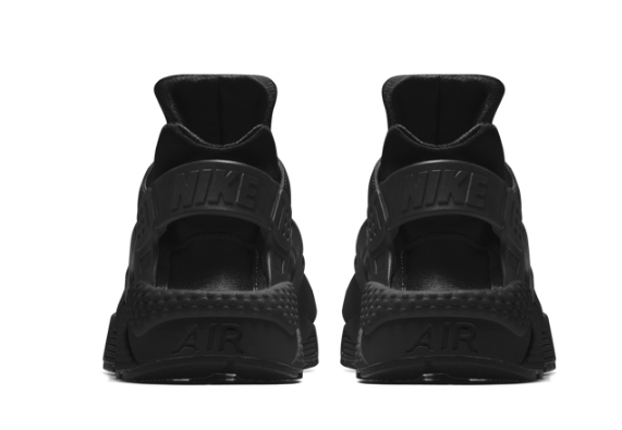 e78fba70ae644ed3cb3acb63c01892ee - NIKE AIR HUARACHE RUN Triple Black 黑武士 運動鞋 黑魂