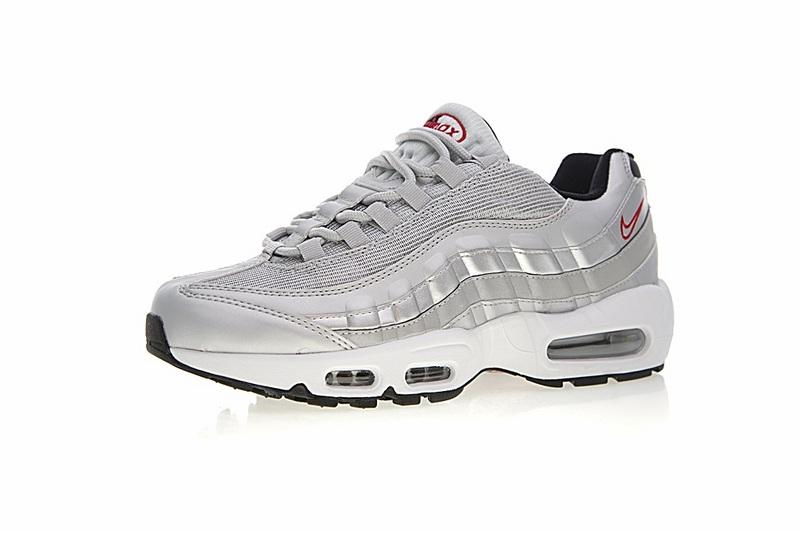 0193276d8b2319617c84b92f2468e902 - Nike Air Max 95系列 復古氣墊慢跑鞋 太空銀白 男款 運動潮鞋 時尚百搭 918359-001