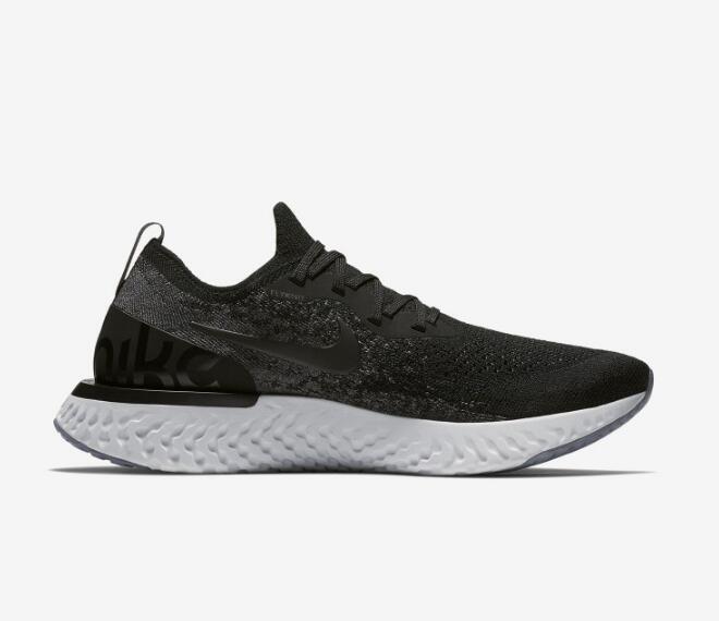 10c7cb19efcd2bb045d9213d3eb58573 - Nike Epic React Flyknit 黑色 飛線 泡沫 顆粒 情侶款 慢跑鞋 休閒 時尚 AQ0067-001