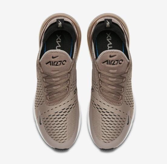 11a9a5882015d0fa2ebb8da02c31ad8f - NIKE AIR MAX 270 灰棕 男子 氣墊 運動 跑步鞋 休閒 百搭 AH8050-200