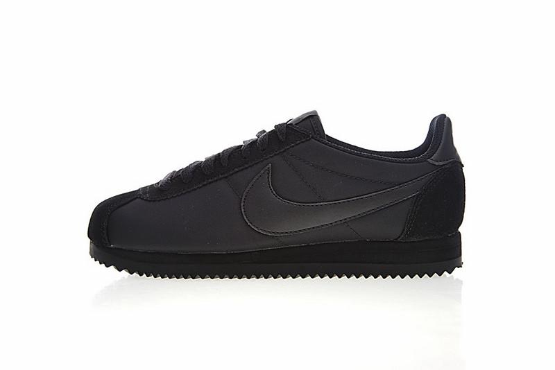 1a4f257c72acc197d3639ebbb35319cb - Nike Classic Cortez 經典 全黑 布面 情侶款 運動 休閒時尚 807472-007