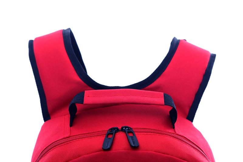 1f110a9af58ea18e5f2ca7b4eb6c0b7c - Jordan喬丹 雙肩包 書包 帆布 電腦 紅色後背包 時尚 百搭