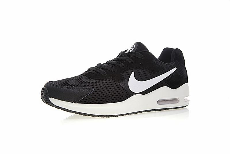 2657e09535c55ec9a51385b5cf846310 - Nike Air Max Guile 詭計系列 三眼 氣墊 復古慢跑鞋 黑白 男款 916768-004