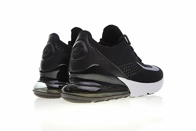 27651040bd3b03ba8eed33556cffca54 - Nike Air 270 Flyknit 飛織 氣墊 慢跑鞋 黑白奧利奧 情侶款 休閒 百搭 AH8050-015