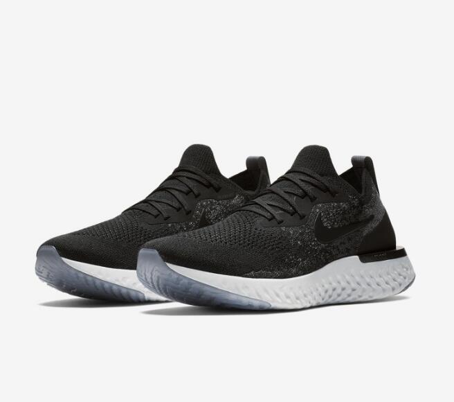 2b5c9a8409fd016a649e6d96cb697870 - Nike Epic React Flyknit 黑色 飛線 泡沫 顆粒 情侶款 慢跑鞋 休閒 時尚 AQ0067-001
