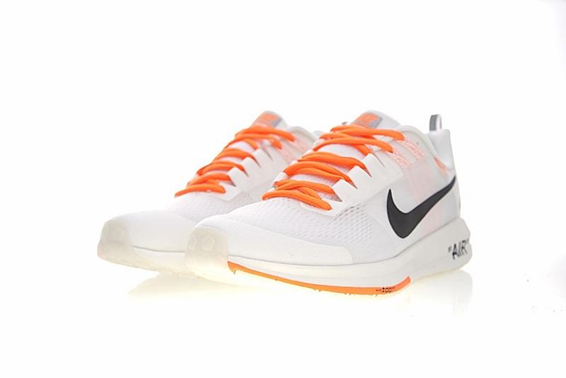 2e63e071a23864aae3fa30626e1b5a66 - Virgil Abloh x Nike Air Zoom Structure 21 登月21代輕盈透氣慢跑鞋 OW白橘黑 男款 907324-006