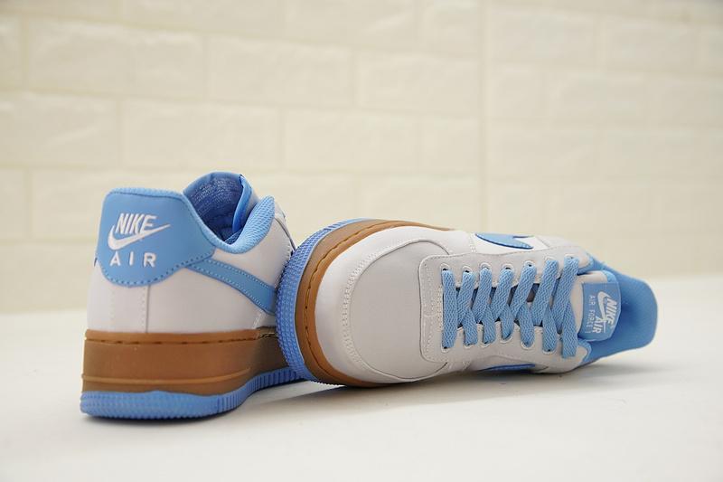 318592173b8fd2478284671b089f4888 - Nike Air Force 1 Low Canvas AF1 帆布 灰藍棕 情侶款 低筒 休閒 百搭 AJ7282-004