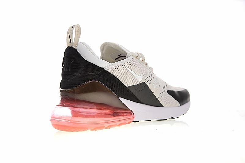 3881a32eac54fde522fb74bae943ec20 - Nike Air Max 270系列 後跟半掌氣墊 慢跑鞋 米白 男款 休閒 百搭 AH8050-003
