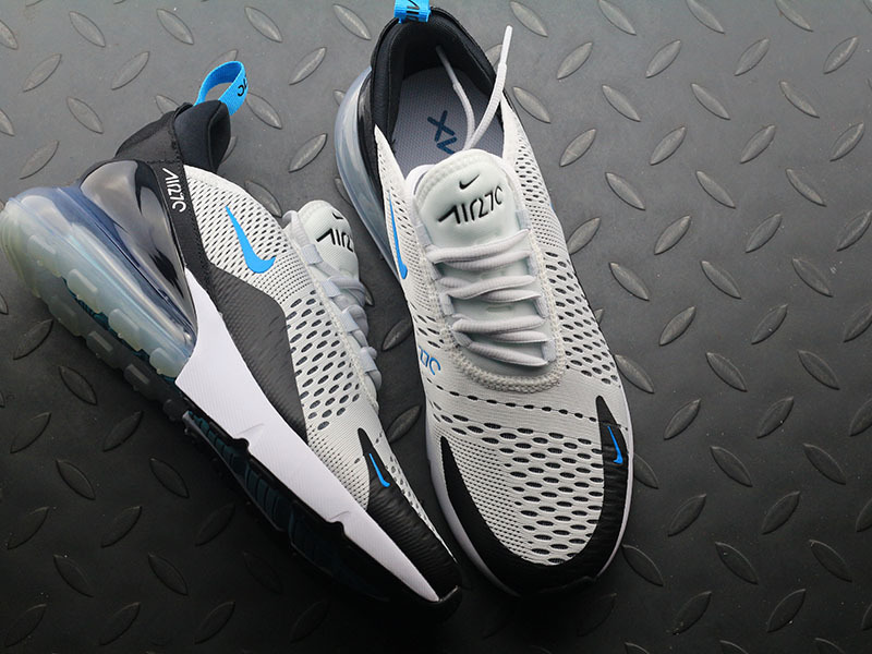 3c4e695b45da409942428b9ce6736c64 - Nike Max 270 AH8050-203 半掌氣墊慢跑鞋 男款 白黑 透氣 時尚 百搭