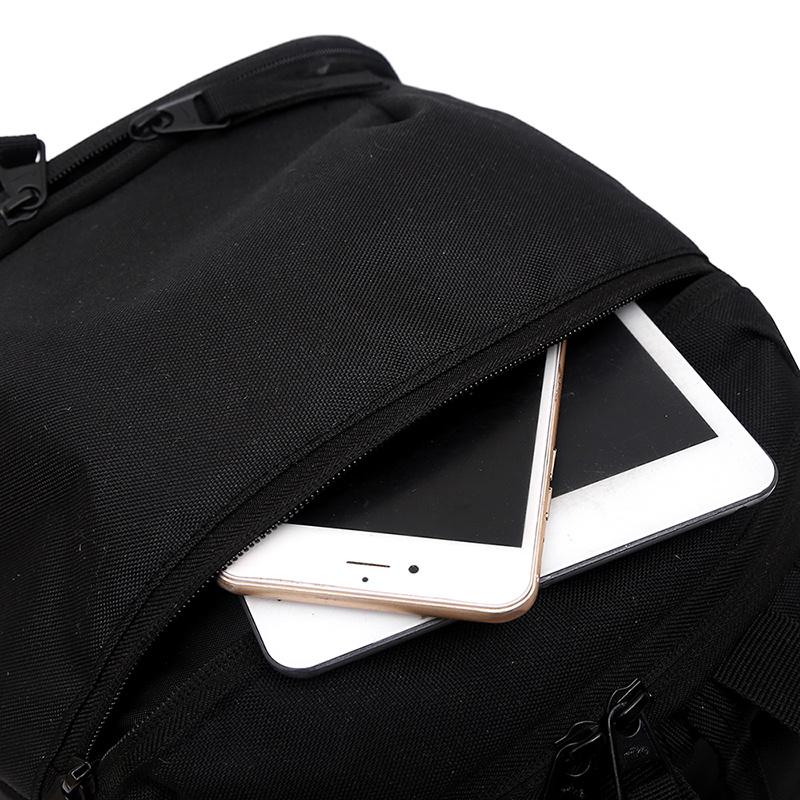 3eef61a290ece415a559c8e624d77cb1 - 感嘆號 Nike 雙肩包 學生書包 旅行包 健身包 潮流後背包 黑白  45*29*20