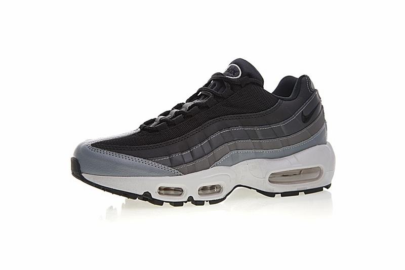 4dfd97f435dc8162199ceaa48294cd84 - Nike Air Max 95 復古氣墊慢跑鞋 黑灰漸變 男款 時尚百搭 749766-021