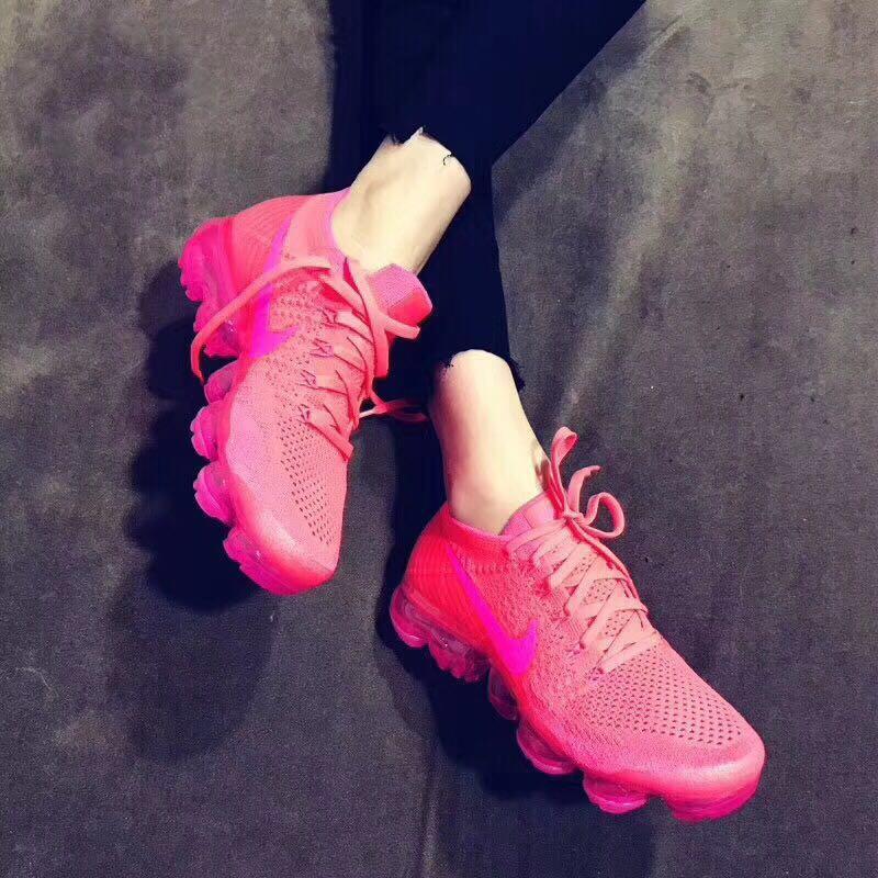 518fcfc0ad2b23fe011b4e54112009af - Nike Air VaporMax Flyknit 2.0 W 二代 熒光騷粉 女款 大氣墊 飛線 慢跑鞋 時尚 百搭 849557-604
