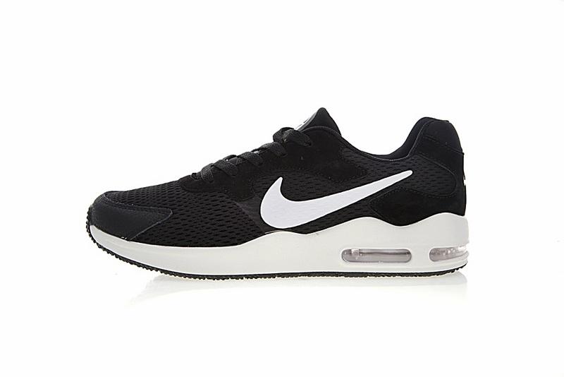 58df3d0ec6fdf1c4bfc9c54b060b4161 - Nike Air Max Guile 詭計系列 三眼 氣墊 復古慢跑鞋 黑白 男款 916768-004