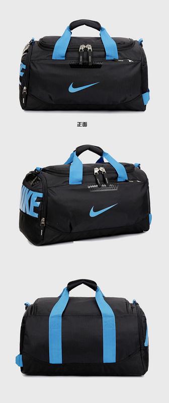 59a4f6221d0d6fe4804205b6928b450b - Nike 手提包 旅遊包 大容量 健身包 黑藍 時尚 帆布 寬52*高30*厚24