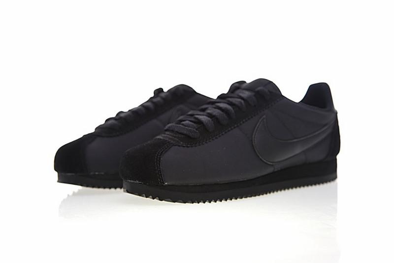 5af6ba7a75cabd54a2c291fc546d7ca5 - Nike Classic Cortez 經典 全黑 布面 情侶款 運動 休閒時尚 807472-007