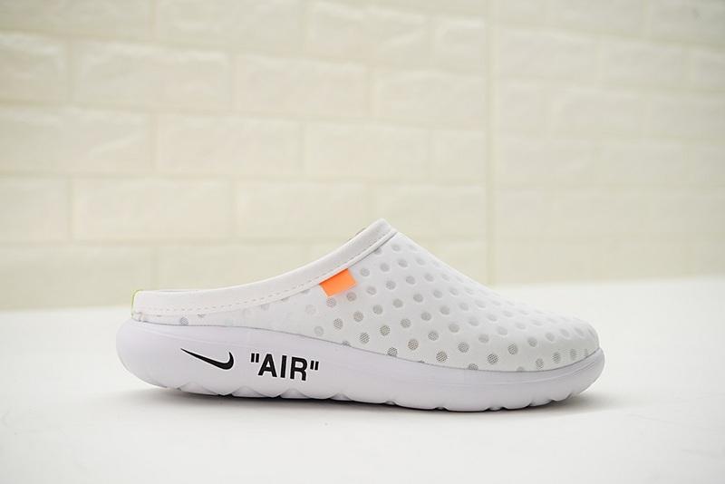 5d9efa7aa3e1d2c4e59a447b8816db94 - Offwhite x Nike Air rejuvens3代鳥巢 拖鞋 白色 洞洞鞋 男款 441377-002