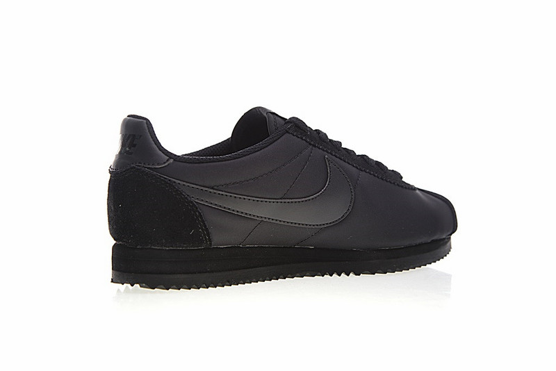 671927435a1324eb63c2e76b064c315b - Nike Classic Cortez 經典 全黑 布面 情侶款 運動 休閒時尚 807472-007