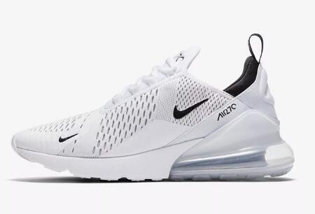 6c53335c62d55b5ec5aa2bec02eb04f1 - Nike Air Max 270系列 後跟半掌氣墊 慢跑鞋 白色 男款 休閒 百搭 AH8050-100