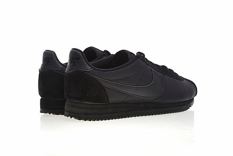 7616a437ca16a7e838d59b8265d70f05 - Nike Classic Cortez 經典 全黑 布面 情侶款 運動 休閒時尚 807472-007