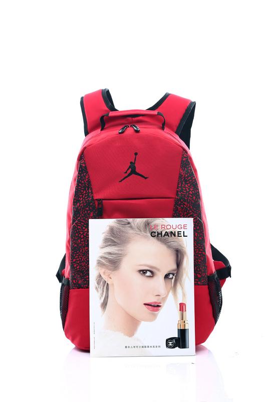 786b42b5e33cd56926e956e846618bd9 - Jordan喬丹 雙肩包 書包 帆布 電腦 紅色後背包 時尚 百搭