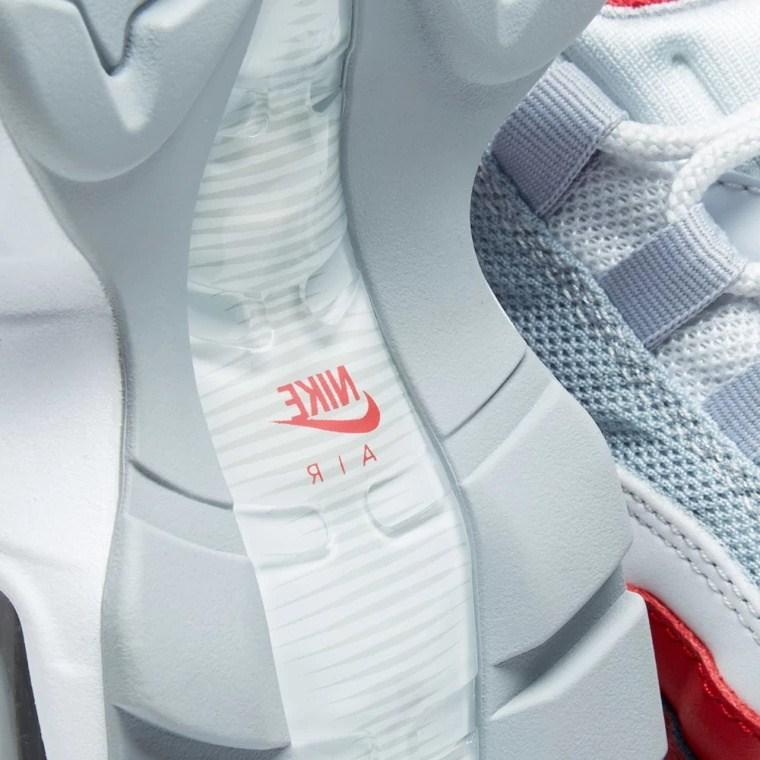 7acd754523fec37f8c1dc4094597ce3c - Nike Air Max 95 Essential 白灰紅 男鞋 氣墊慢跑鞋 時尚 百搭 749766-103