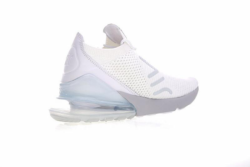 7d88524b587b8f92c2f062c222906461 - Nike Air Max 270 Flyknit 飛線 針織 氣墊 白玉蘭 慢跑鞋 情侶款 時尚百搭 AO1023-100