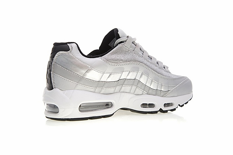 8214d9b90e0086e9162d32a457608a25 - Nike Air Max 95系列 復古氣墊慢跑鞋 太空銀白 男款 運動潮鞋 時尚百搭 918359-001