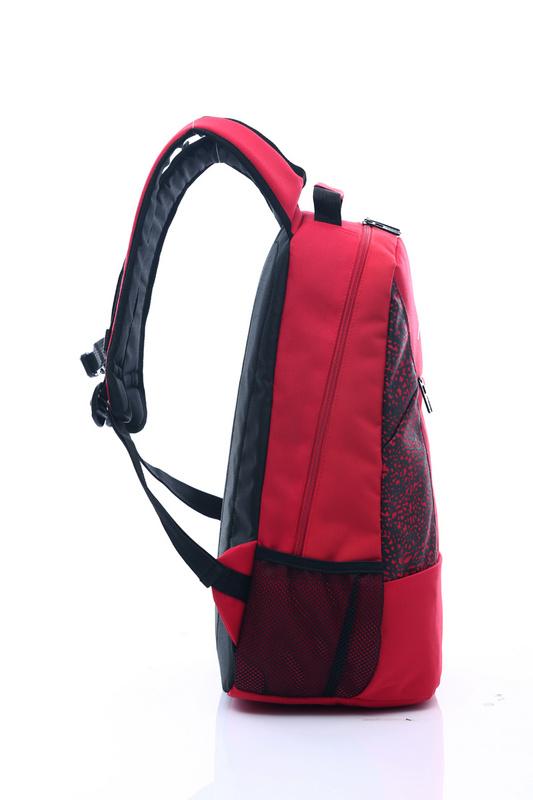 85b6c93734117b6c809aa0d655943d76 - Jordan喬丹 雙肩包 書包 帆布 電腦 紅色後背包 時尚 百搭
