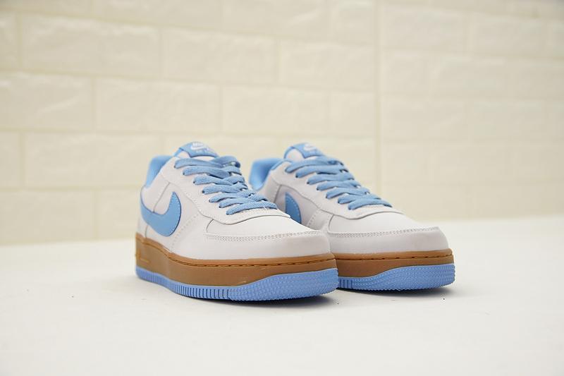 86316419b6715601d6d2a20d0ef16792 - Nike Air Force 1 Low Canvas AF1 帆布 灰藍棕 情侶款 低筒 休閒 百搭 AJ7282-004