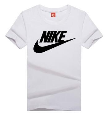 91ac6b18e6061bafe3133e284308580d - NIKE 情侶款 夏季新款 基礎 純棉T恤 修身 吸汗 透氣 時尚百搭