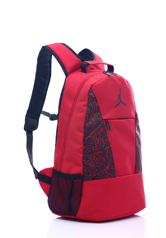 91bc1aa9ec775e60b2e51a44042c198c - Jordan喬丹 雙肩包 書包 帆布 電腦 紅色後背包 時尚 百搭
