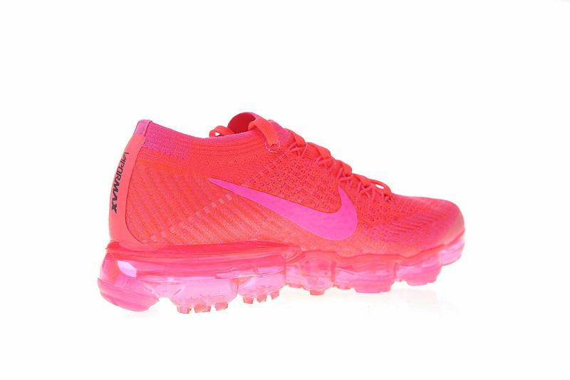 92f9664b811e425ee907cf6a54028867 - Nike Air VaporMax Flyknit 2.0 W 二代 熒光騷粉 女款 大氣墊 飛線 慢跑鞋 時尚 百搭 849557-604