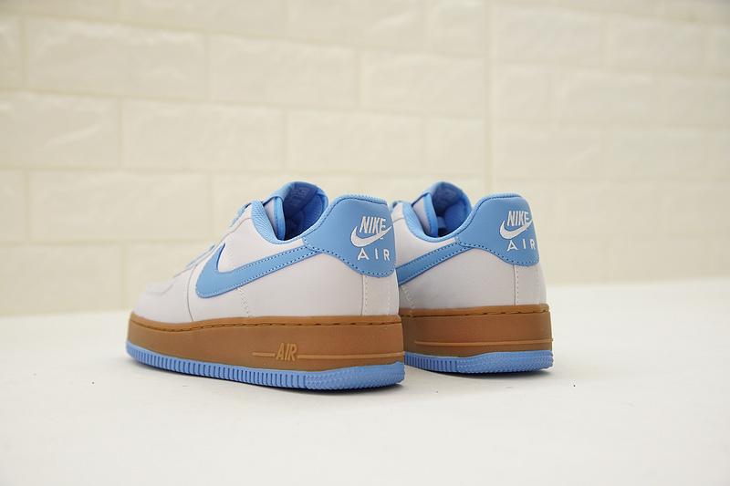 945f6f3179234e9ec86dbe2b783f2ab8 - Nike Air Force 1 Low Canvas AF1 帆布 灰藍棕 情侶款 低筒 休閒 百搭 AJ7282-004