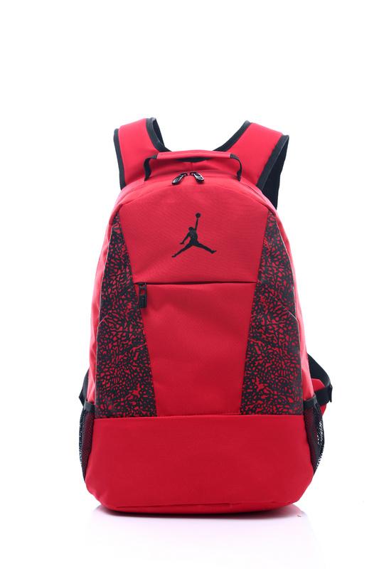 9c91f450380c9e4c4ab10d4993613e89 - Jordan喬丹 雙肩包 書包 帆布 電腦 紅色後背包 時尚 百搭