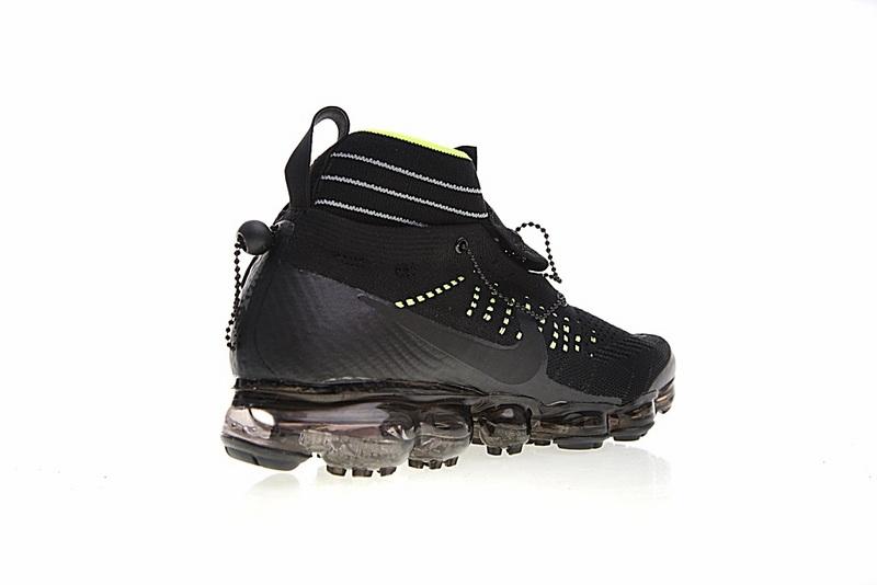 9ed881186a9a6fab74e65aca80807442 - Nike Air VaporMax 機能 拉鏈 中筒 氣墊慢跑鞋 黑綠 男款 休閒 百搭 899473-003