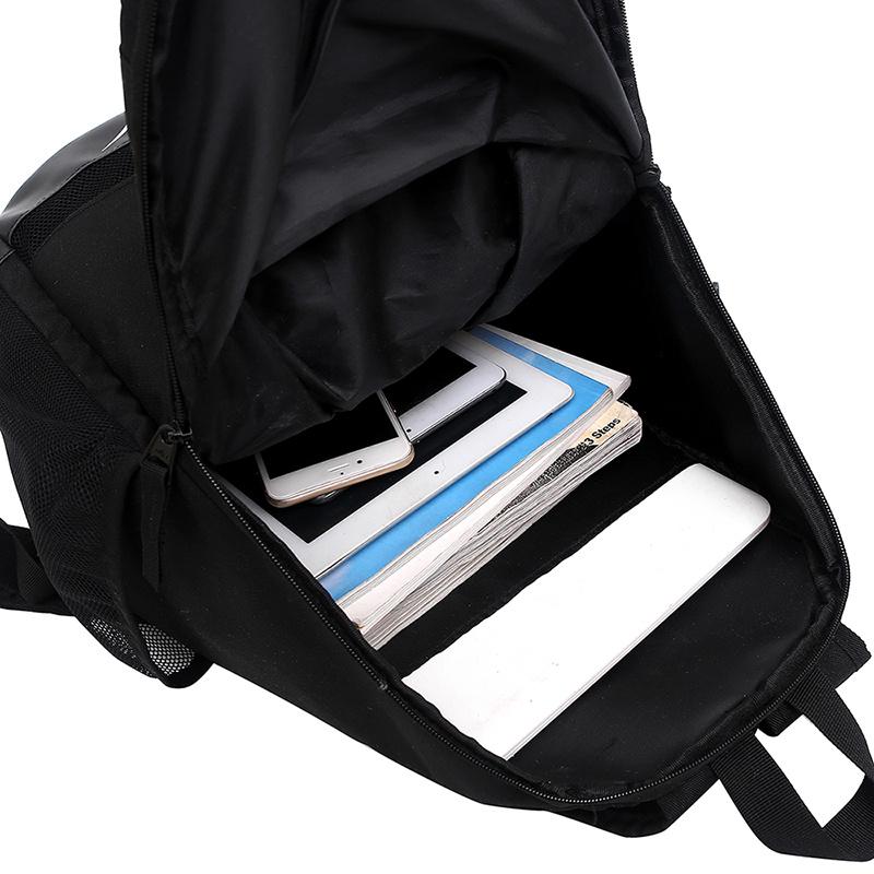 9f7b54116843dc67345f4899ba7b75f8 - 感嘆號 Nike 雙肩包 學生書包 旅行包 健身包 潮流後背包 黑白  45*29*20
