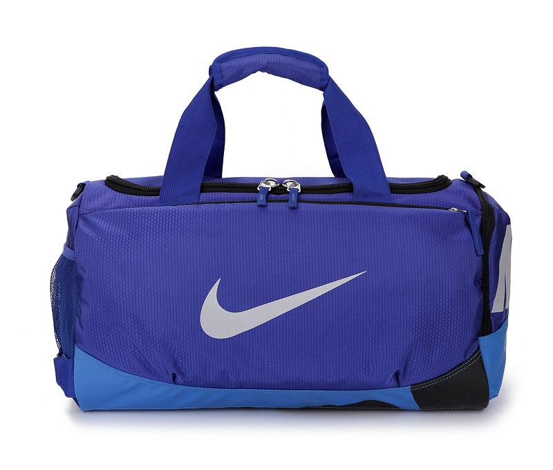 a78255b81ce9d6f51e29b8875459e2d2 - Nike 手提包 旅行包 斜挎包 大容量 健身包 藍色 圓筒包 寬52*高29*厚25