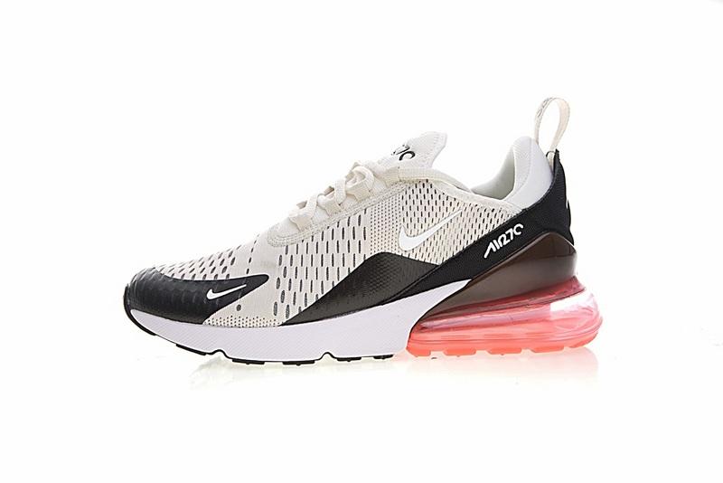 b0b485a5c9169f6b9ca62d45b591e89d - Nike Air Max 270系列 後跟半掌氣墊 慢跑鞋 米白 男款 休閒 百搭 AH8050-003