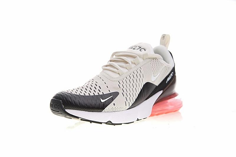 b172710d364e9256b499a7b085a0b2a9 - Nike Air Max 270系列 後跟半掌氣墊 慢跑鞋 米白 男款 休閒 百搭 AH8050-003
