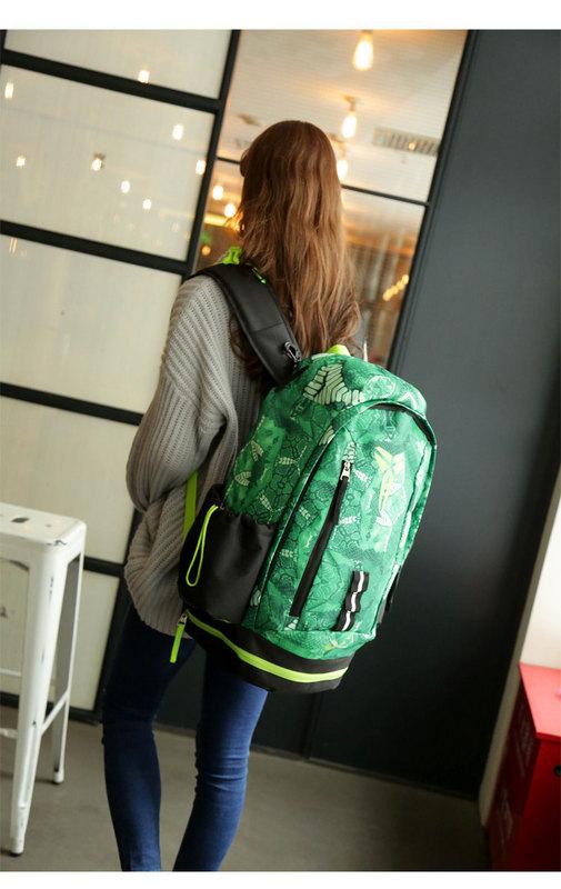 bf9e4bdf2d164827492da4de0cf6542a - Nike Kobe 籃球包 大容量 雙肩包 旅行包 學生書包 鞋袋包 綠色 49*27*19