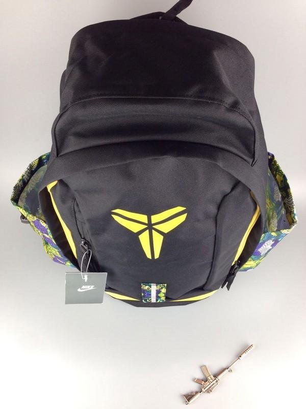bfd58ca8fc998265e9a7f69ff1df61ea - Nike Kobe 籃球包 大容量 雙肩包 旅行包 學生書包 鞋袋包 黑黃 防水 49*27*19